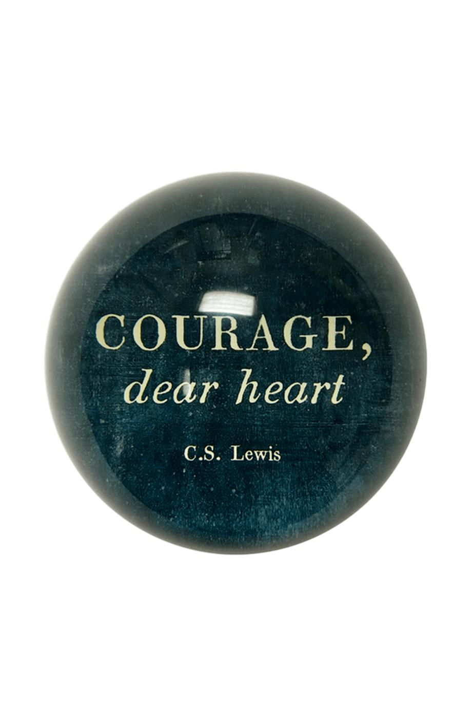 Courage Paperweight