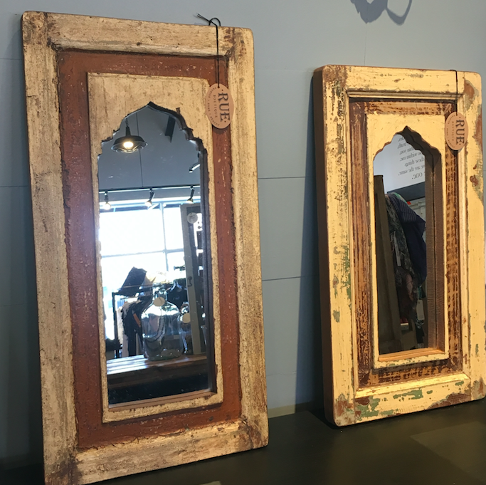 Small Window Frame Mirrors