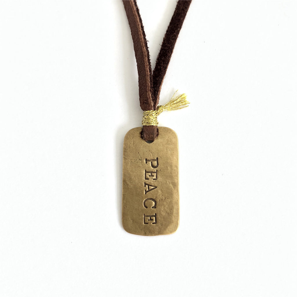 CLP Peace Dog Tag