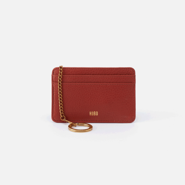 Works Sienna Leather Credit Card Wallet