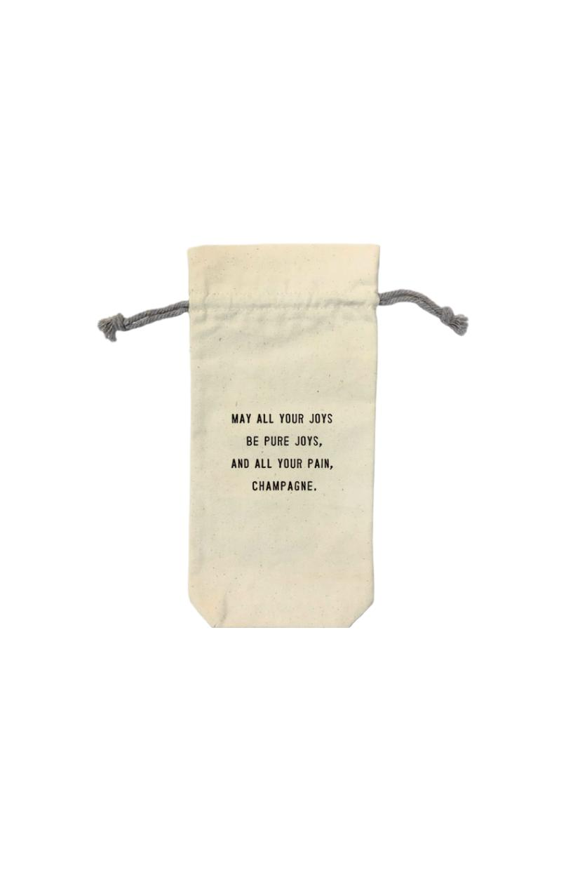 Joys and Pains Wine Bags
