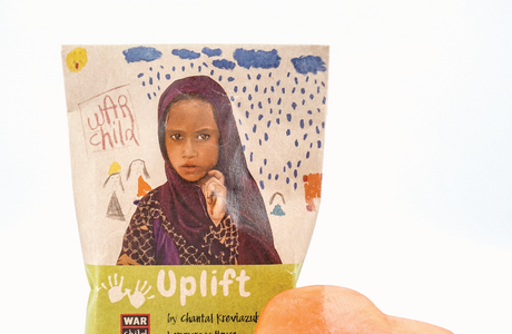 UPLIFT Heart Shaped Soap for War Child