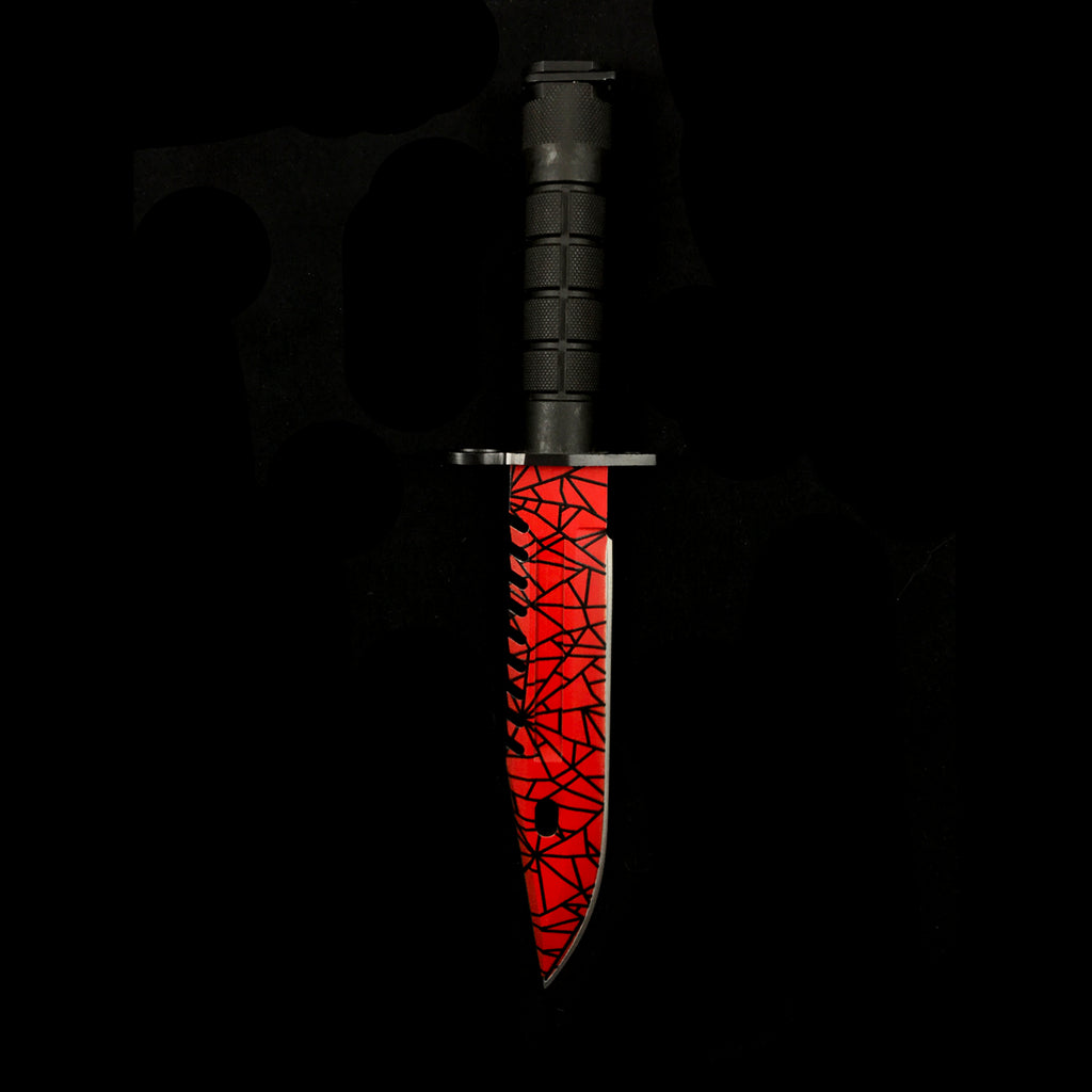 real m9 bayonet crimson web csgo irl all rights reserved. Black Bedroom Furniture Sets. Home Design Ideas