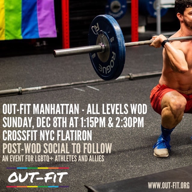OUT-FIT Manhattan | All Levels WOD 12.8.19