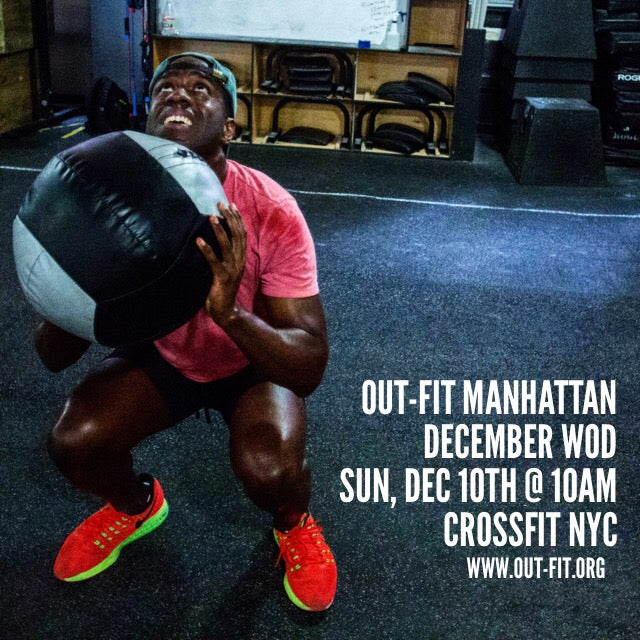OUT-FIT Manhattan December WOD 12.10.17
