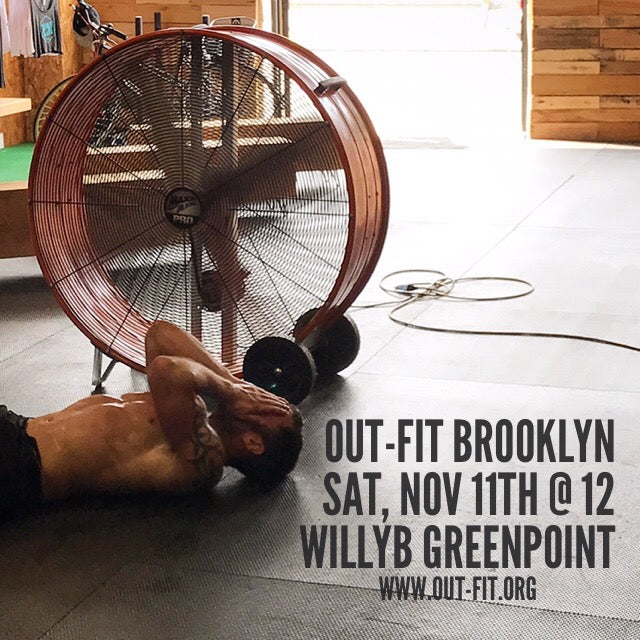 OUT-FIT Brooklyn November WOD 11.11.17