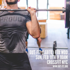 OUT-FIT Manhattan February WOD 2.11.18