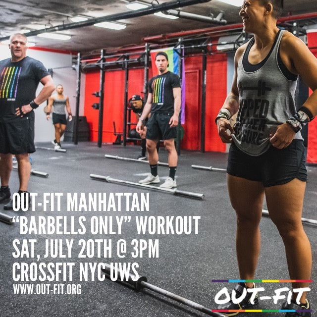 "OUT-FIT Manhattan | ""Barbells Only"" 2.0 Workout 7.20.19"