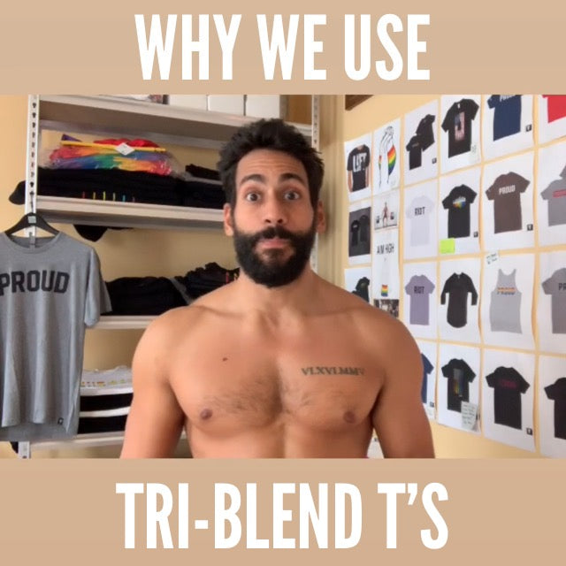 Why we use Tri-Blend T's (and Screen Print)