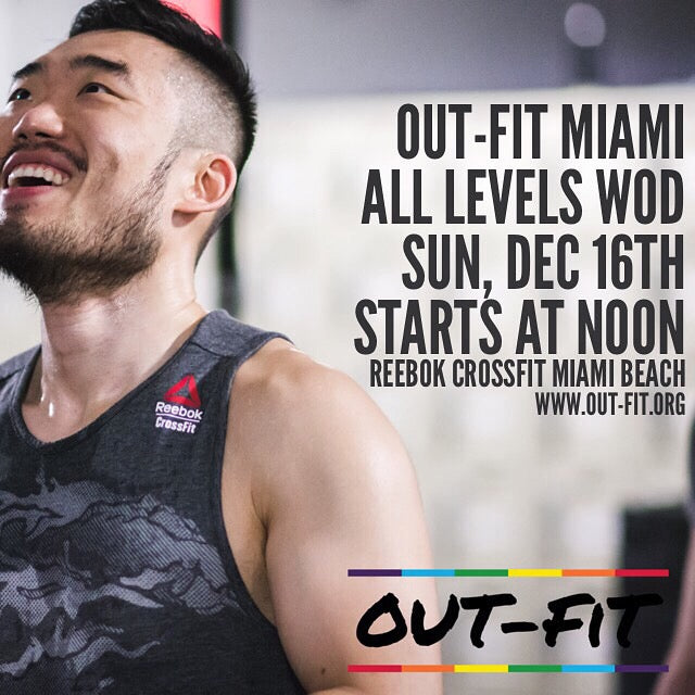 OUT-FIT Miami | All Levels WOD 12.16.18