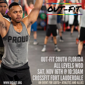 OUT-FIT South Florida | All Levels WOD 11.16.19