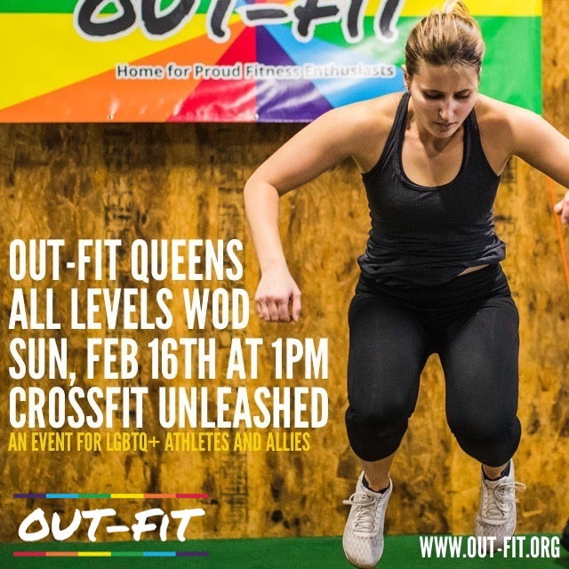 OUT-FIT Queens | All Levels WOD 02.16.20