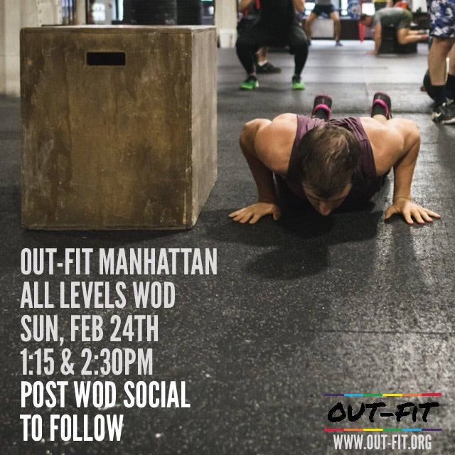 OUT-FIT Manhattan | February WOD 2.24.19