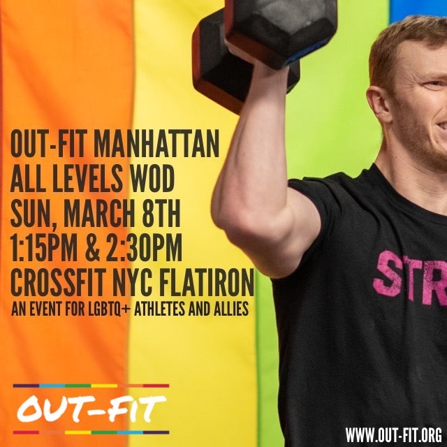 OUT-FIT Manhattan | All Levels WOD 3.8.20