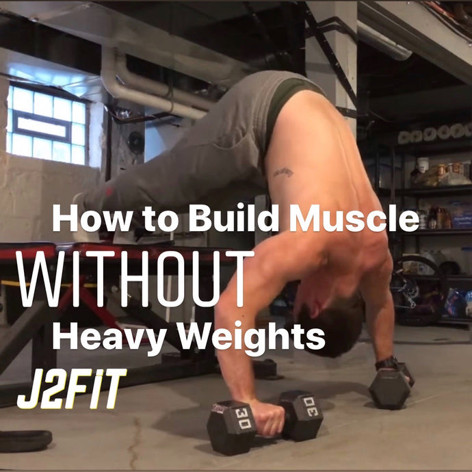Build Muscle Without Heavy Weights (Video)