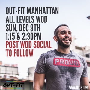 OUT-FIT Manhattan | October WOD 12.09.18