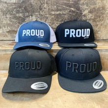 Proud Trucker Hats and Snapback Ballcaps