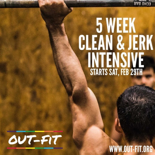 5 Week Clean & Jerk Intensive - NYC