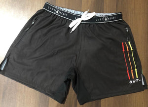 OUT-FIT Barbells Only Workout Shorts