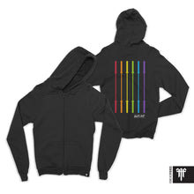 OUT-FIT Barbell Flag Zip Up Hoodie