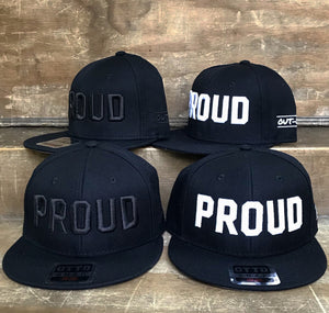 LGBT GAY PROUD Snap Back Flat Brim Ball Cap