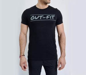 LGBT GAY PROUD PRIDE OUT-FIT Logo T