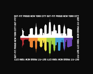 WorldPride NYC Pride Tank Top Close Up