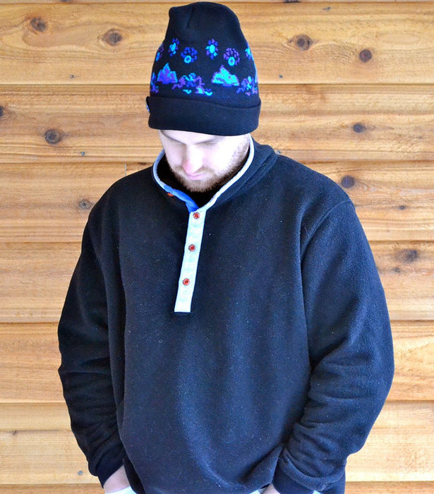 Moon Mountain Knit Hat