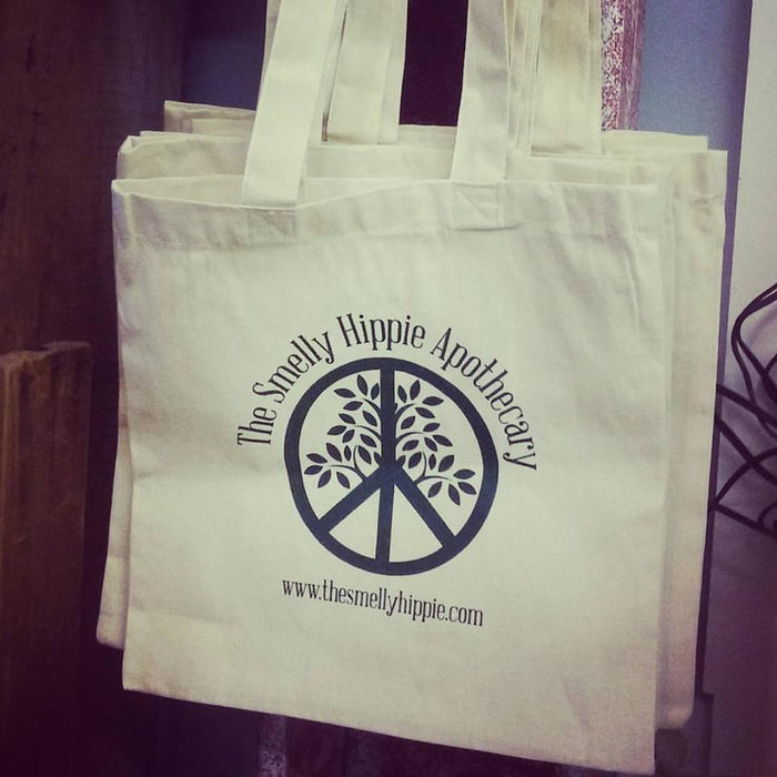 All Natural Smelly Hippie Tote Bag