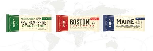 GUTSEY: The New Englander - Sampler Box (12 Protein bars)