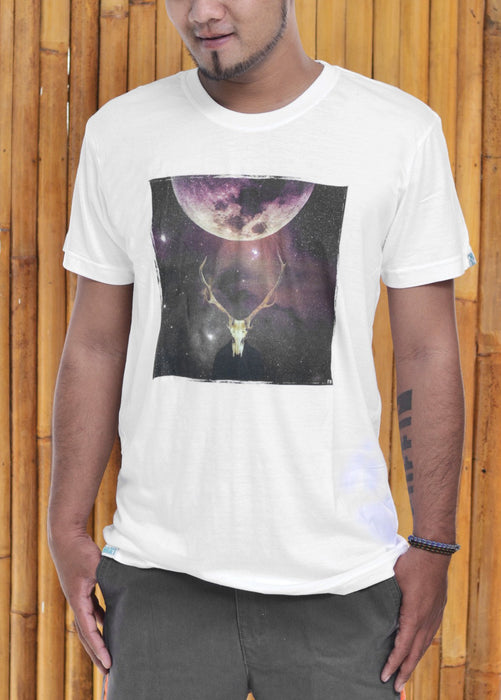 The Outer Antler Digital Print Bamboo Tshirt