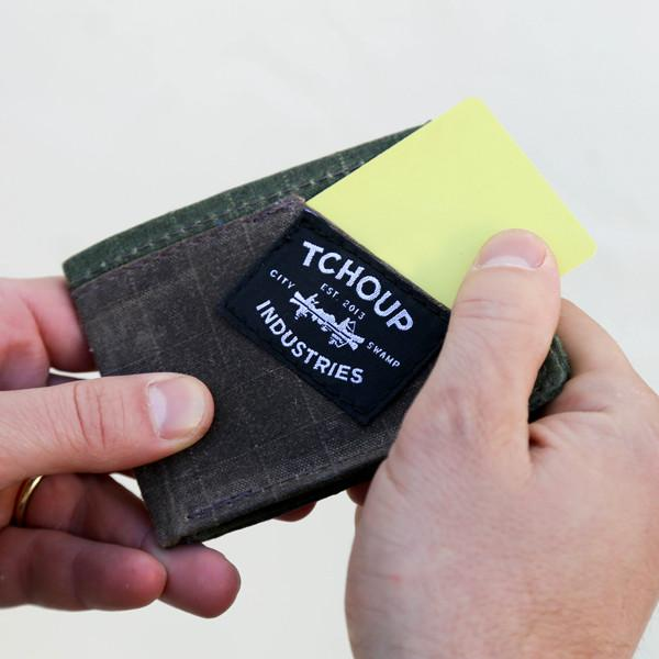 Canvas Folding Wallet