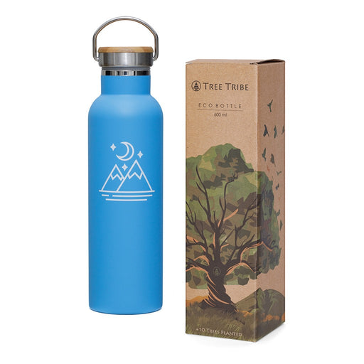 Moon and Mountains Indestructible Insulated Water Bottle - Tree Tribe