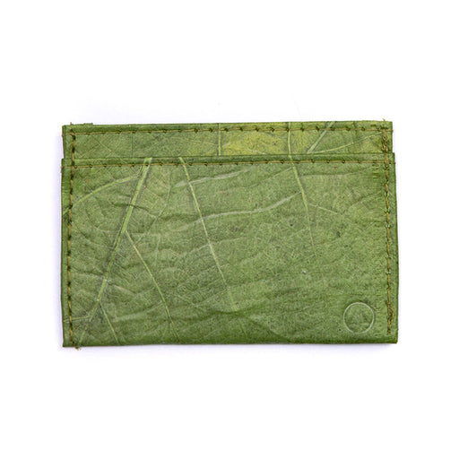 Leaf Leather Slim Wallet