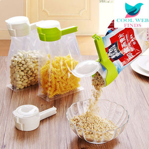 Seal & Pour Food Storage Clips