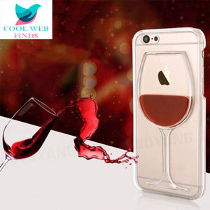 Wine Phone Case for iPhone 5 5S SE, 6 6S 6Plus 6S Plus, 7 7Plus, 8 8Plus