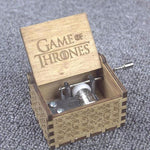 Game Of Thrones Handmade Engraved Wooden Theme Music Box