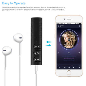 Bluetooth 3.5mm Audio Receiver Jack