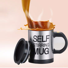 Stainless Steel Self Stirring Mug Short