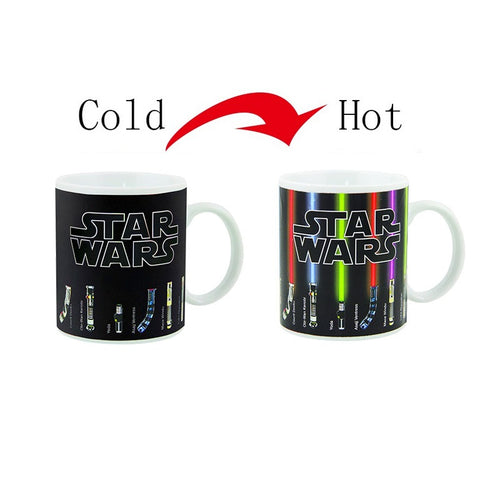 Heat Activated Color Changing Star Wars Mug