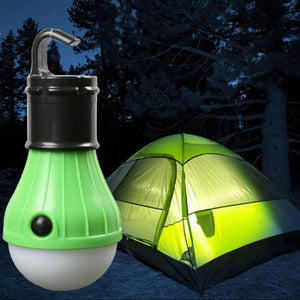 Hanging Battery Powered LED Light Bulb (3 lighting modes)