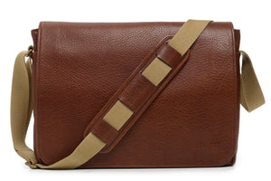 Korchmar FITZGERALD - Leather Laptop Messenger (F1219)