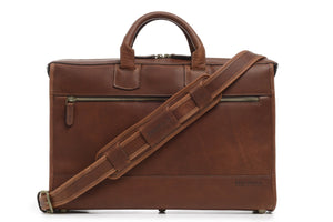 Korchmar SAWYER - Slim Leather Laptop Briefcase (Z1223)