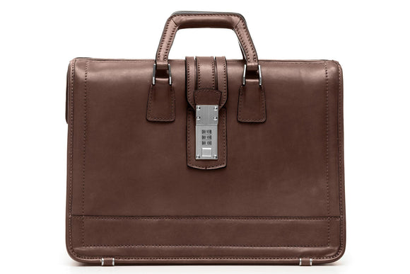 Korchmar CENTENNIAL WOODROW - Limited Edition Leather Briefcase (B1264)