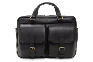 Korchmar BARTON - Leather Laptop Briefcase (Z1165)