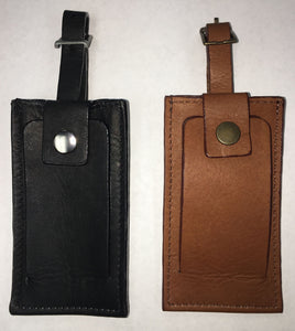 Dilana Leather Luggage Tag