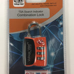 Voltage Valet - TSA Search Indicator Combination Lock (TSA12068)