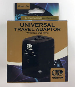 Voltage Valet - Universal Travel Adapter w/Surge Protection (UTA)