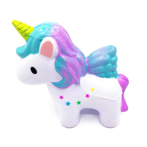 Cute Colorful Unicorn Squishy - From our May Slime Kit Box!