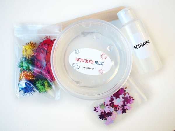 Firecracker Blast 6oz Slime Kit